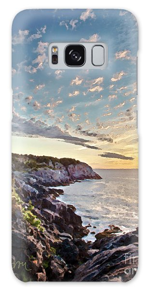 Monhegan East Shore Galaxy Case