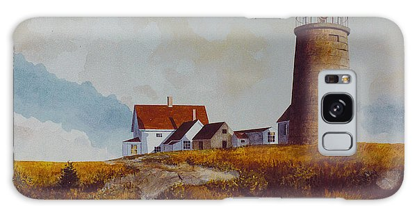 Monhegan Light Galaxy Case