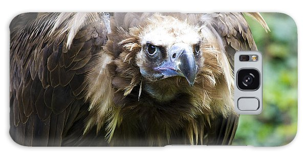 Galaxy Case featuring the photograph Monk Vulture 3 by Heiko Koehrer-Wagner