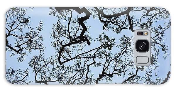 Monkey Pod Tree Patterns Galaxy Case