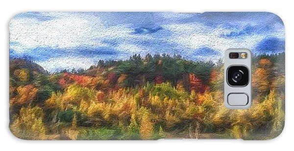 Monkton Ridge, Vt Galaxy Case by Rena Trepanier