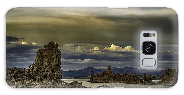 Mono Lake, Fall Sunset Galaxy Case by Janis Knight