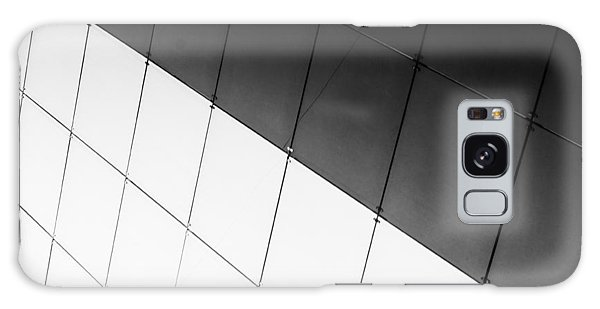 Monochrome Building Abstract 3 Galaxy Case