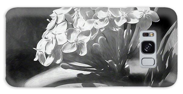 Monochrome Flora Galaxy Case