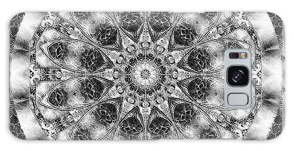 Monochrome Kaleidoscope Galaxy Case by Charmaine Zoe