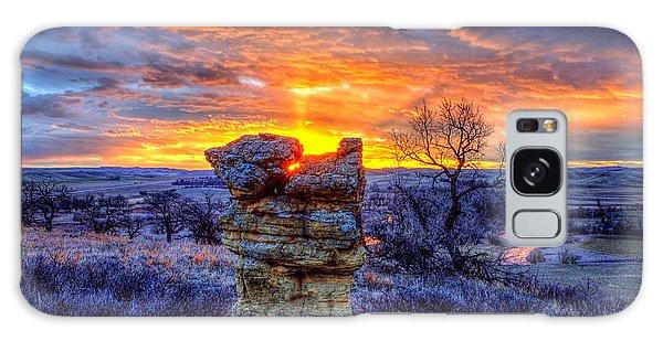 Monolithic Sunrise Galaxy Case