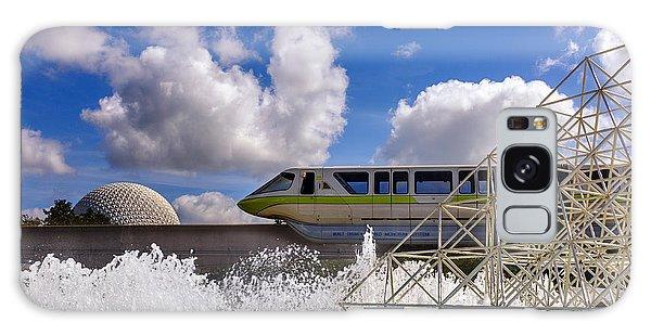 Monorail And Spaceship Earth Galaxy Case