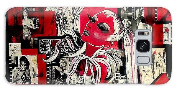 Monroe And Bardot Collage Galaxy Case