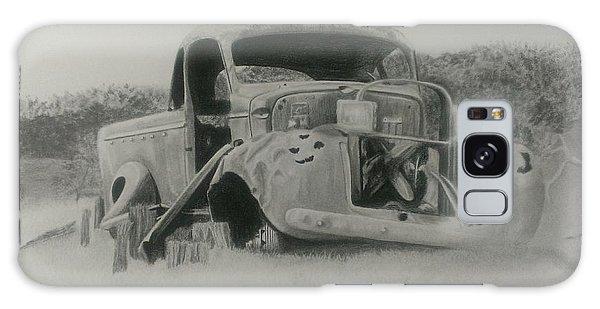 Old Truck Galaxy Case - Monsildale Truck by Robyn Garnet