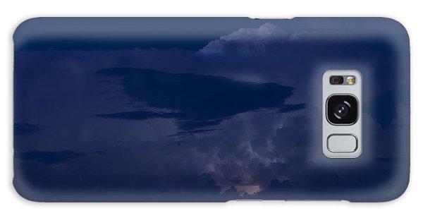Monsoon Cloud And Lightening 20 Galaxy Case by Carolina Liechtenstein
