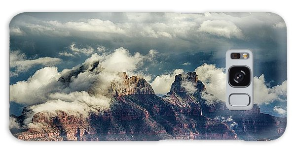 Monsoon Clouds Grand Canyon Galaxy Case