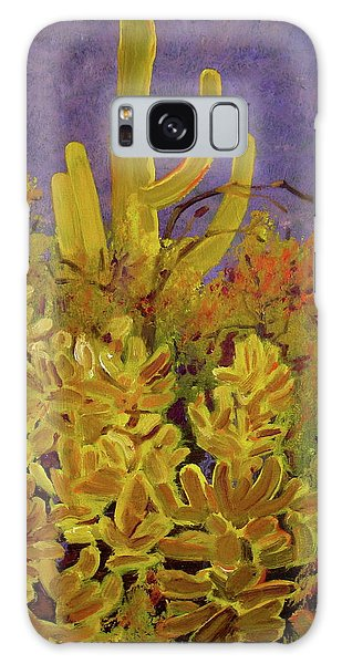 Monsoon Glow Galaxy Case by Julie Todd-Cundiff