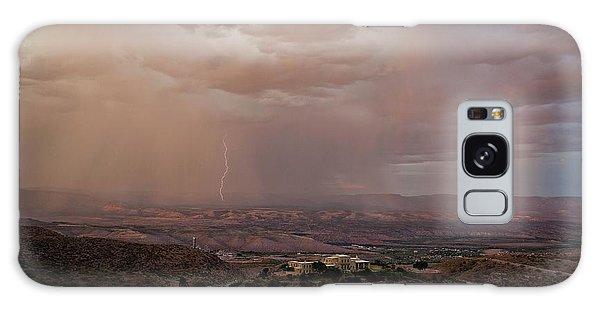 Monsoon Lightning And Rainbow Galaxy Case