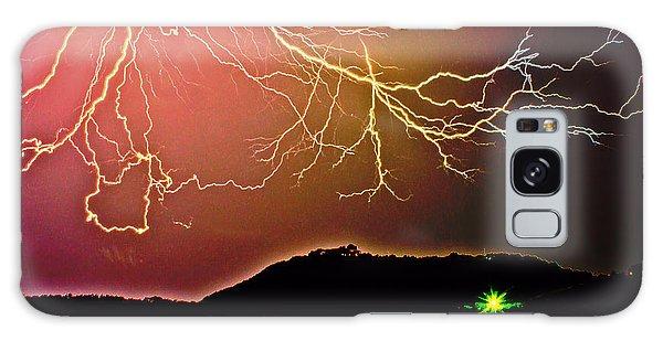 Monster Lightning By Michael Tidwell Galaxy Case