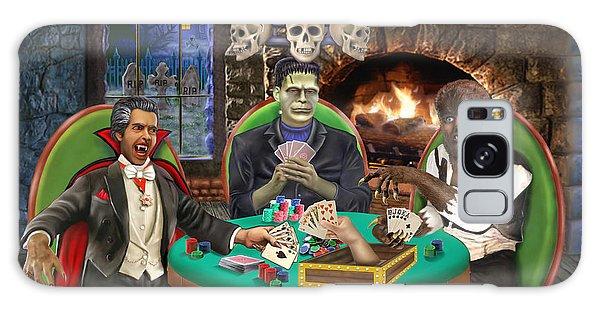 Monster Poker Galaxy Case by Glenn Holbrook