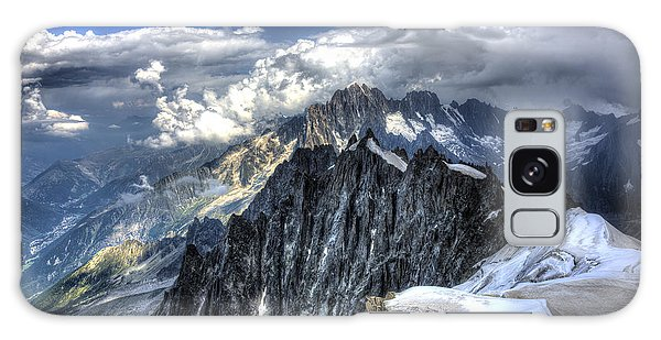 Mont Blanc Near Chamonix In French Alps Galaxy Case by Shawn Everhart