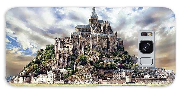 Mont Saint-michel Galaxy Case