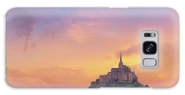 Mont-saint-michel At Dawn Galaxy Case