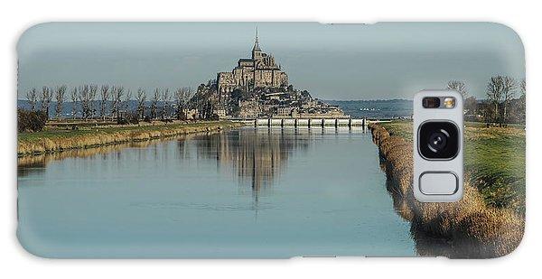 Mont-saint-michel France Galaxy Case