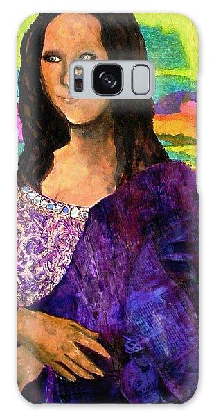 Montage Mona Lisa Galaxy Case