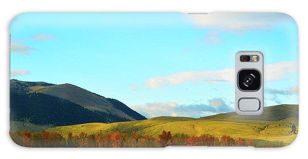 Montana Fall Trees Galaxy Case