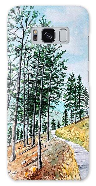 Montana Lake Como Trail Galaxy Case