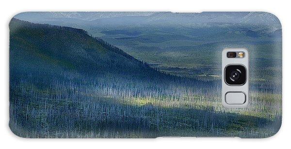 Montana Mountain Vista #3 Galaxy Case