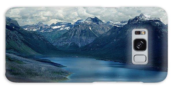 Montana Mountain Vista And Lake Galaxy Case