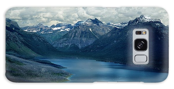 Montana Mountain Vista And Lake Galaxy Case
