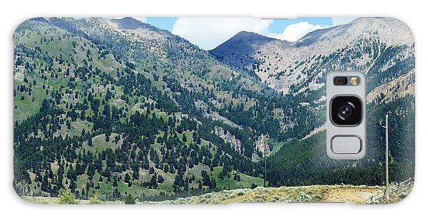 Montana Mountains Galaxy Case
