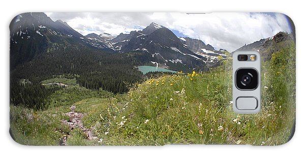Montana Rolling Wildflowers Galaxy Case