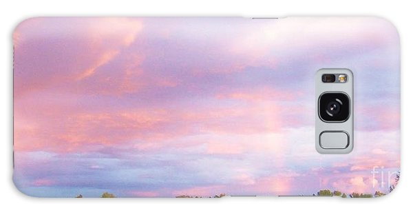 Montana Sunset 1 Galaxy Case