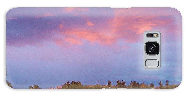 Montana Sunset 2 Galaxy Case