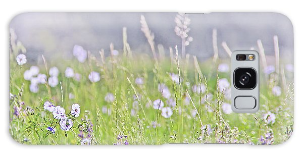 Galaxy Case featuring the photograph Montana Wildflowers Lavender by Jennie Marie Schell