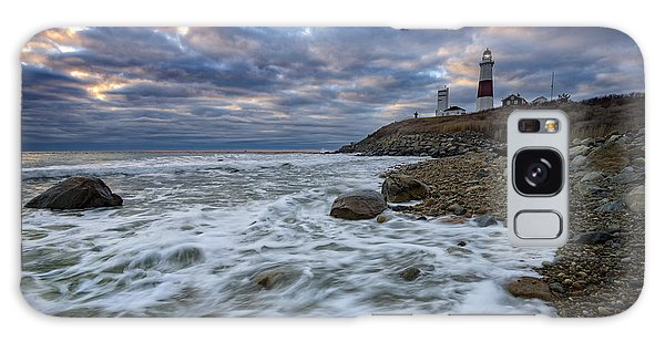 Montauk Morning Galaxy Case by Rick Berk