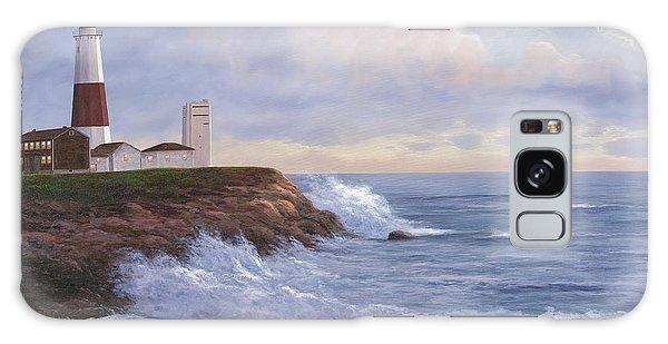 Montauk Point Lighthouse Galaxy Case