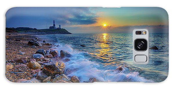 Montauk Sunrise Galaxy Case