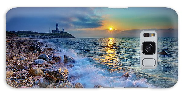 Montauk Sunrise Galaxy Case by Rick Berk