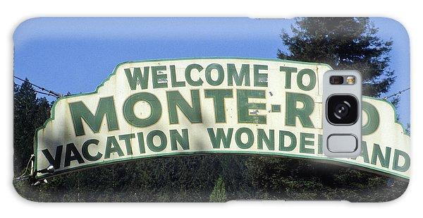 Monte Rio Sign Galaxy Case