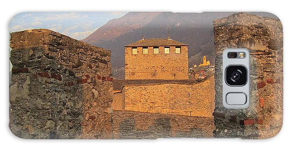 Galaxy Case featuring the photograph Montebello - Bellinzona, Switzerland by Travel Pics