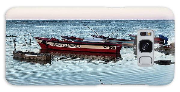 Montego Bay Fishing Scene Galaxy Case
