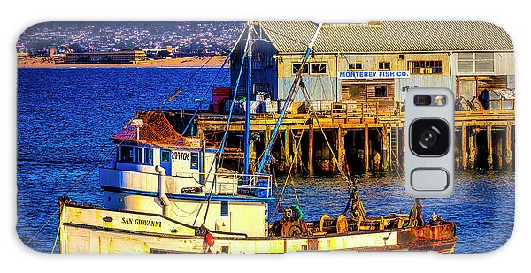 Monterey Galaxy Case - Monterey Bay Fishing Boat by Garry Gay
