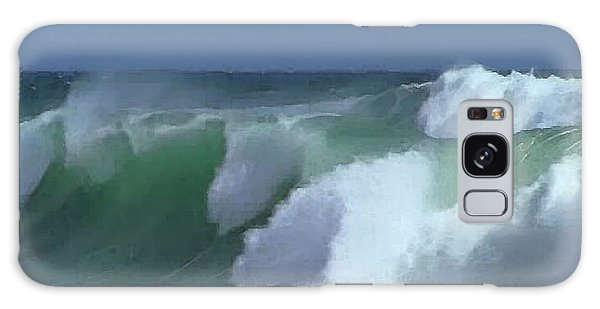 Monterey Surf Galaxy Case by Walter Chamberlain