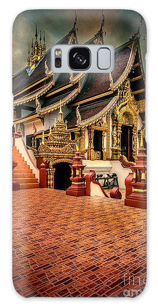 Monthian Temple Chiang Mai  Galaxy Case
