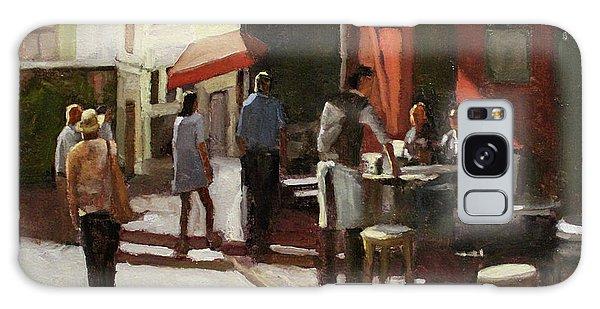 Montmarte Cafe Galaxy Case