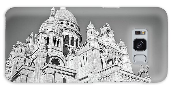 Sacred Heart Galaxy Case - Montmartre by Delphimages Photo Creations