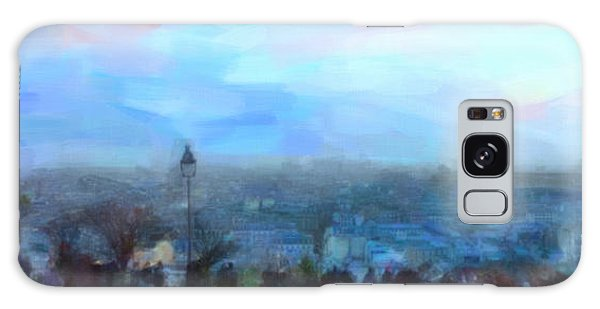 Montmartre From The Butte Galaxy Case