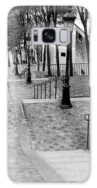 Montmartre Stairway Paris Galaxy Case by Pierre Leclerc Photography
