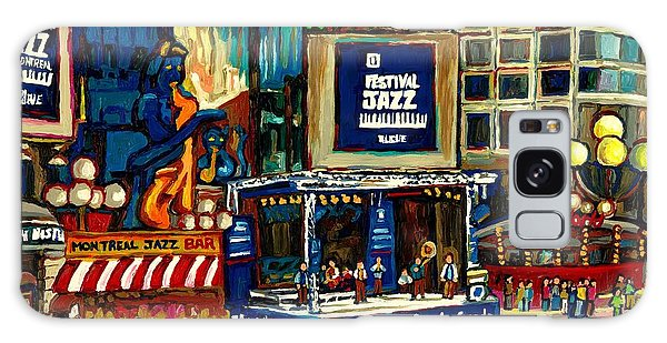 Montreal International Jazz Festival Galaxy Case by Carole Spandau