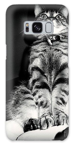 Monty Our Precious Cat Galaxy Case